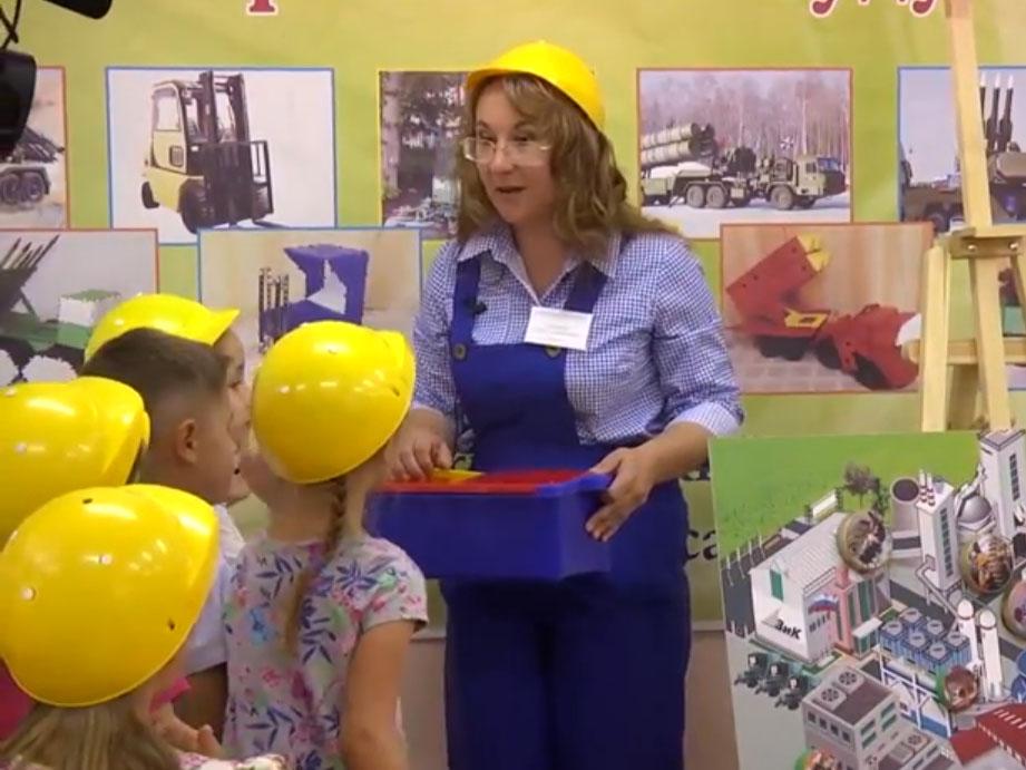 Как делают машины? Занятие для дошкольников по УМК «Тропинки»