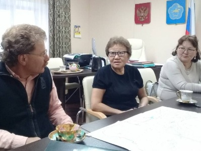 Тувинские учителя математики познакомились сучебниками поматематике А.Г.Мерзляка идр.