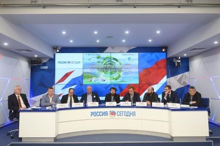 Корпорация «Российский учебник» в МИА «Россия сегодня» подвела итоги Года экологии на Всероссийский телемарафоне